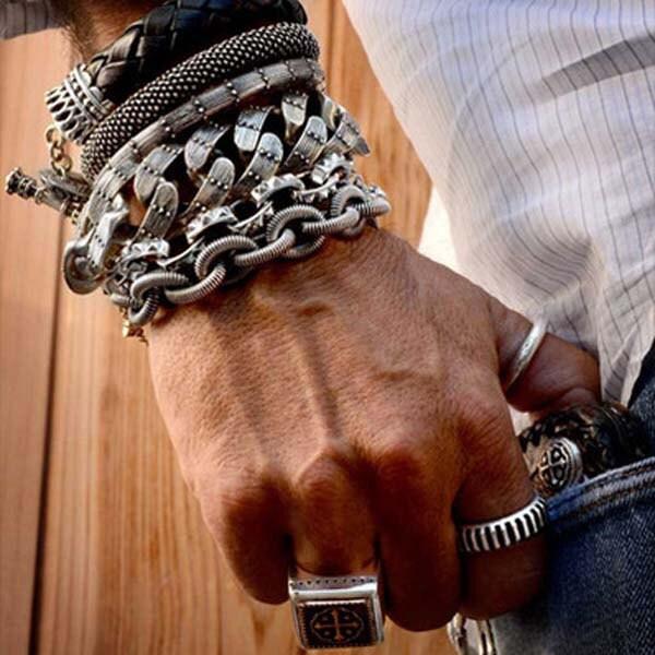Men 39 s gold braceletman jewelry gold bracelet for for King baby jewelry sale