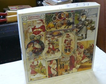 F. X. Schmid puzzle christmas greetings