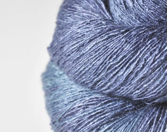 Going to the land of Nod  - Tussah Silk Lace Yarn
