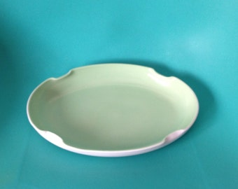 Mint Green Retro Serving Dish Tray