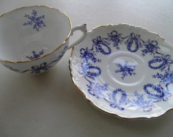 Coal Port bone china tea cup and saucer