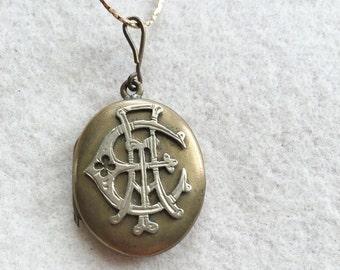 Victorian Locket AEI Sweetheart Original