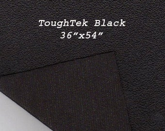 Toughtek Non slip Black Fabric 54 by 36 inches