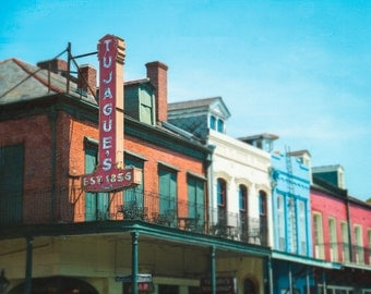 New Orleans Photography, French Quarter Art, Fine Art Photography, Architecture, Travel Photo, NOLA, Louisiana Decor, Large Wall Art, Print