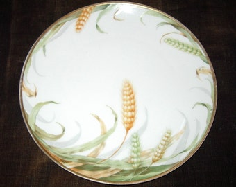 """Vintage Rosenthal Bavarian China Hand Painted Decorative 9"""" Plate Item # 439 Collectibles"""