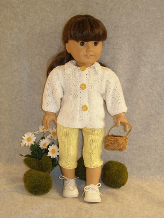 Daisy Doll Knitting Pattern : DAISY GIRL Doll Knitting Pattern