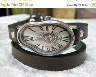 Women Leather Watch, Woman Leather Watch, Custom Watch, Leather Watches For Women, Wrist Watch Woman, Watches For Women, Brown Leather Watch
