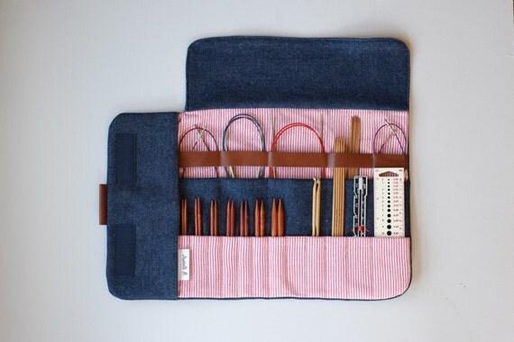 Knitting Needle Case Nz : Knitting needle case interchangeable circular