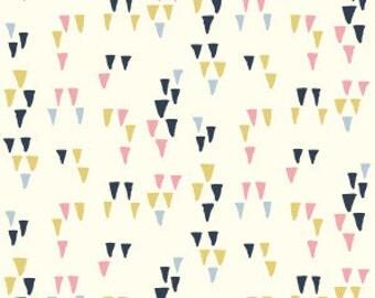 2 Yards Organic KNIT Fabric - Birch Wildland Knits - Arrowhead Cream Knit LAST ONE