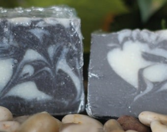 Frangipani incense cold process bar soap