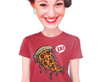 pizza t-shirt pizza gift for students pizza gift for geeky women or nerdy foodies funny gourmet pizza lover tee italian food fast food s-2xl
