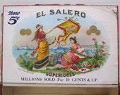 El Salero Cigar Box