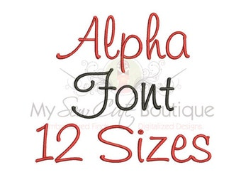 Embroidery Fonts for Boys - Winter BX Machine Monogram Designs - 12 Sizes - Instant Download