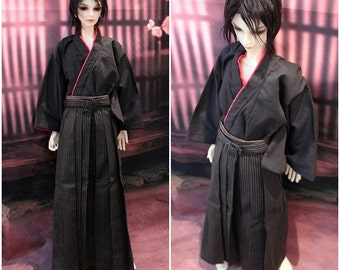 Mini Kimono & Hakama,Haori SD17 BJD garçon1/3