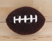 Mini Hand-Knit Football