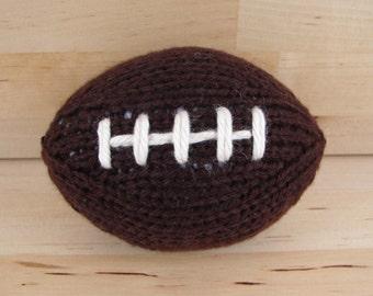 Mini Hand-Knit Football