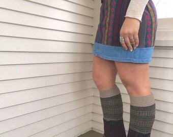 LOVE Sale Eco Leg Warmers,sweater leg warmers, leg warmers, hippie leg warmers, patchwork leg warmers,earthy leg warmers,Zasra