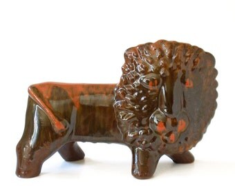 MCM Leo the Lion Figurine Made in Italy