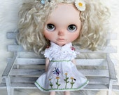 OOAK Series - Garden bugs and flowers set