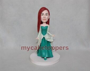 Christmas gift, Frozen, Handmade doll,  gift, Toddler gift,  Baby gift, custom christmas gift,  christmas gift idea, custom bobbleheads