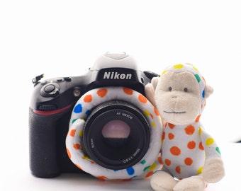 Phoxi Monkey -  Camera buddy, camera buddies, lens friend, shutter hugger, shutter huggers, photography accessory