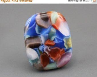 Clearance Sale Fused Art Glass Cabochon