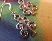 Sterling silver sacred Tree of life earrings sterling silver FREE SHIP