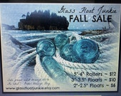 Japanese Glass Fishing Floats - Fall Sale - Rollers