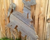 Barnwood Bucking Horse Cowboy Cut Out , Hand Cut Cedar horse with rider, Wyoming Pride Sign Rustic barn wood sign, Wyoming, Cowgirl, Rodeo