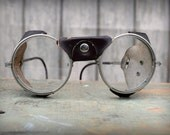 Reserved for Robin - Vintage Steampunk Safety Glasses Antique Motorcycle Glasses