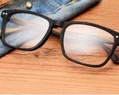 wood giran acetate glasses sqaute & wood watches prescription sunglasses