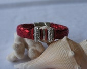 Night Life Red Mirrored Sparkly Bracelet