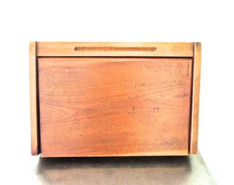 antique writing desk - 1930s-40s wooden hinge-top lap writing desk