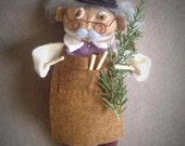 Geppetto Christmas Ornament E-PATTERN by cheswickcompany