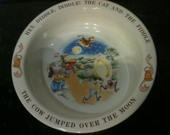 Vintage Avon Cat and the Fiddle Bowl