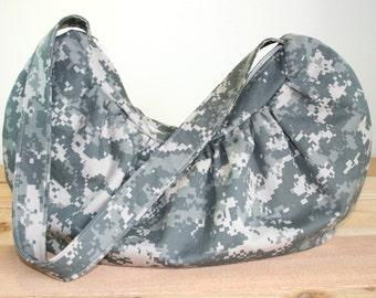ACU Army Hobo Bag Purse Military Digital Camo