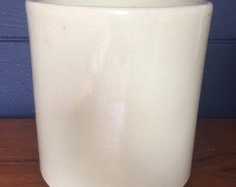 Vintage Light Yellow Gainey Ceramic Planter