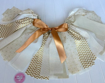 Gold Birthday Outfit - Smash Cake Outfit For Girls - First Birthday - Birthday Girl Outfit - 1 st Birthday Girl Outfit