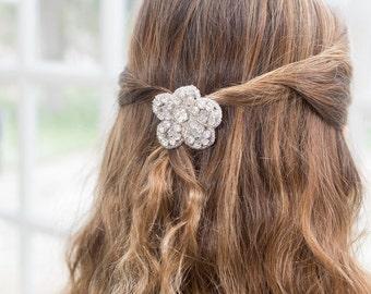 Girl's Hairclip - Rhinestone Hair Barrette