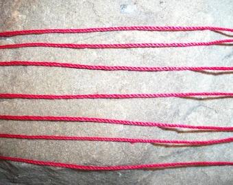 7 Red String Bracelets, Spiritual. Blessings
