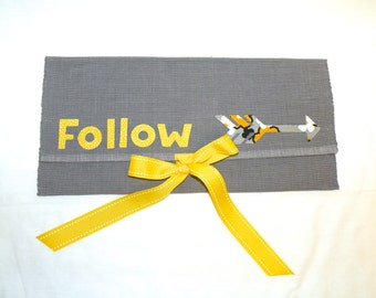 Follow Your Arrow Travel Envelope
