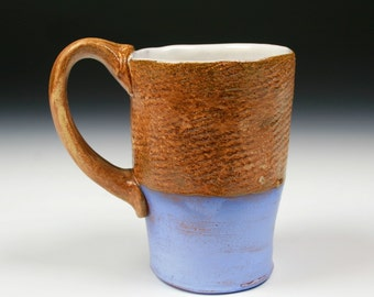 Gold and Blue Mug