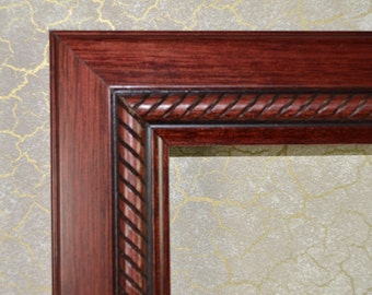 ACEO Picture Frame * Mahogany Photo Frame* Frame for ACEO