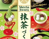 Matcha Sweets Re-ment/Japanese Sweets Re-ment/Miniature Sweets/Sweets Miniatures