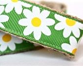 Daisy Dog Leash, Floral Dog Leash, Summer Dog Leash, Girl Dog Leash, Spring Dog Leash