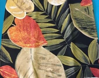 NAPL1526E  Tropical Design Cloth Napkin Set, Set of 10 Napkins, Cloth Napkins, Cloth Napkin, Linens, Table Linens. Napkins, Napkins, Gifts