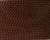 Brown Silk Beading Thread with Needle Attached  - Size 6 - Griffin Pure Silk Thread