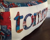 SPIDERMAN Pillow - Custom Name Pillow - Personalized Pillow - Spiderman Birthday - Totally UNIQUE