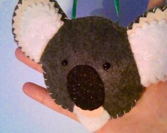 Cute Koala Felt Ornament