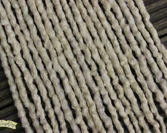 Light Blonde DE x10 Crochet Synthetic Dreads